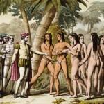 Колумб и американские индейцы