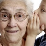Глухая бабушка