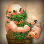 Дед в бане
