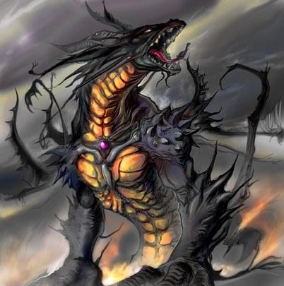 Сказка про дракона