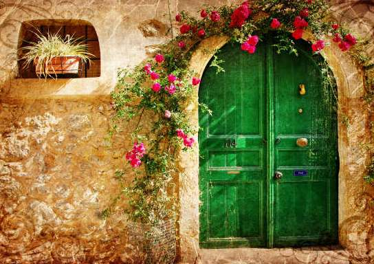 Золушка и зеленая дверь